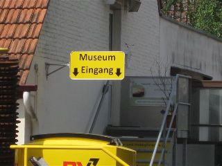 Museums-Eingang